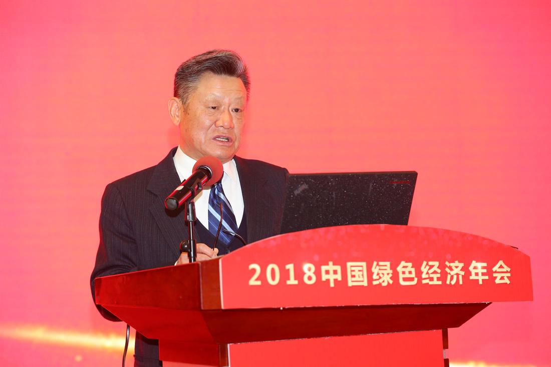 联合国原副秘书长、IGEA名誉会长-沙祖康大使做主题报告