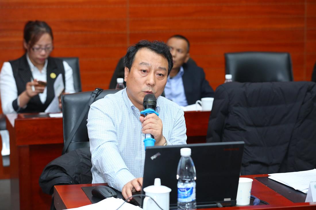 黑龙江农垦玖阳生物质能源开发有限公司董事长 周晗