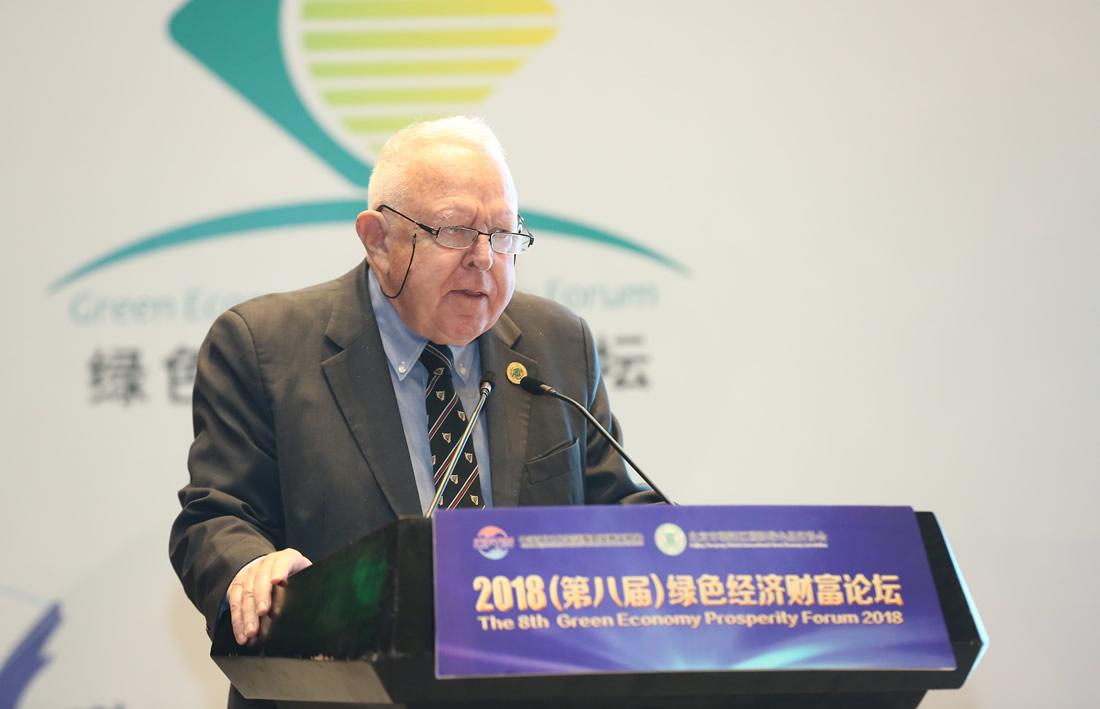 联合国全球契约组织高级顾问Frederick  C.Dubee