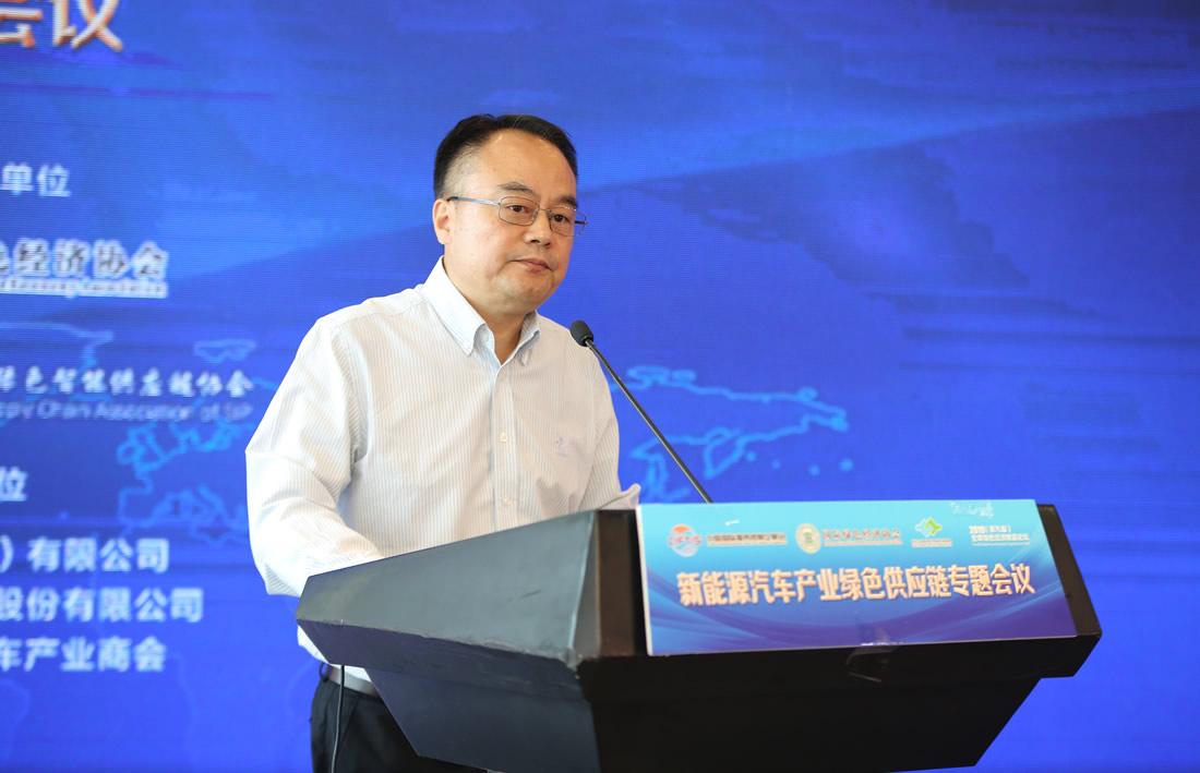 国家工信部工业文化发展中心党委书记 李洪彦
