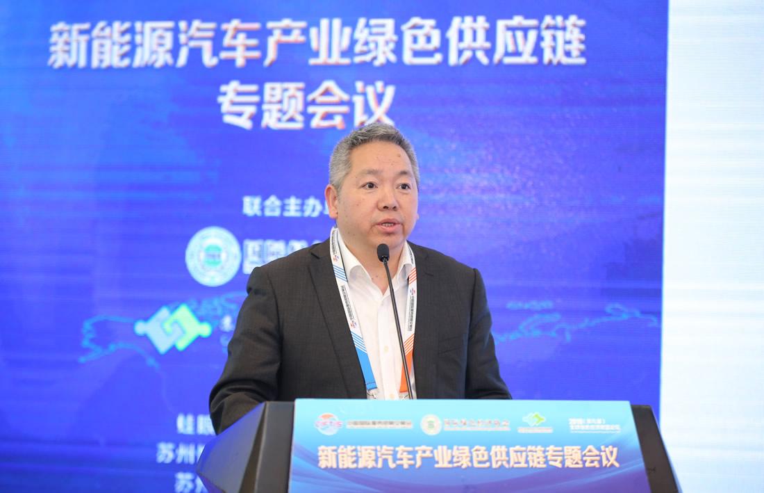 苏州工业园区绿色智能供应链协会的会长、法国MPM汽车集团中国区总经理 宋方